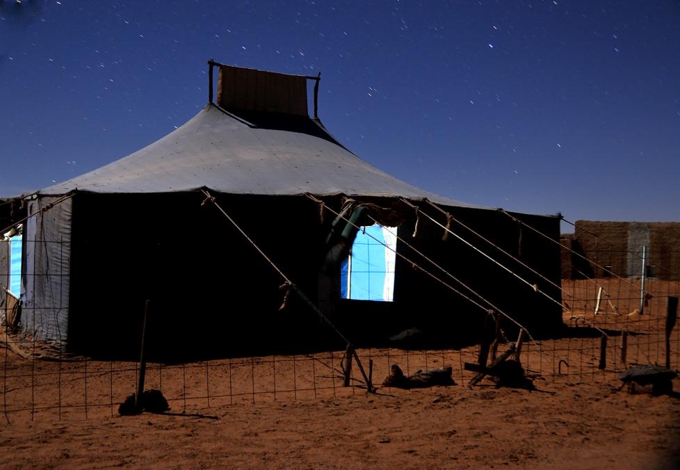 Mi casa en los campamentos saharauis