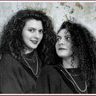 mi hermana y yo (old scool)