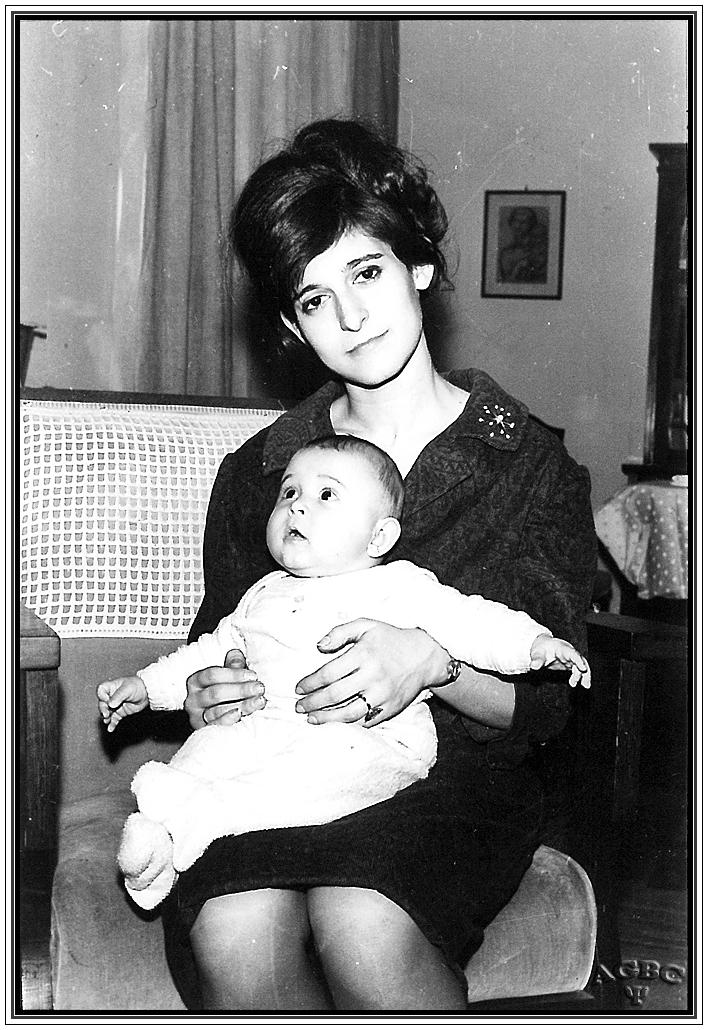 Mi Madre y yo (con 5 meses)