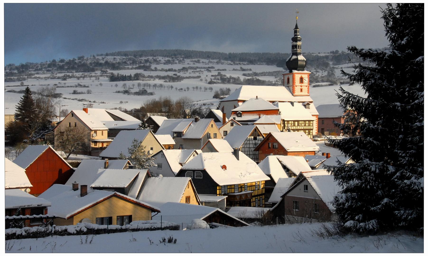 Mi pueblo, esta mañana (Heute Morgen, mein Dorf) - Dedicada a alba56 - gewidmet alba56