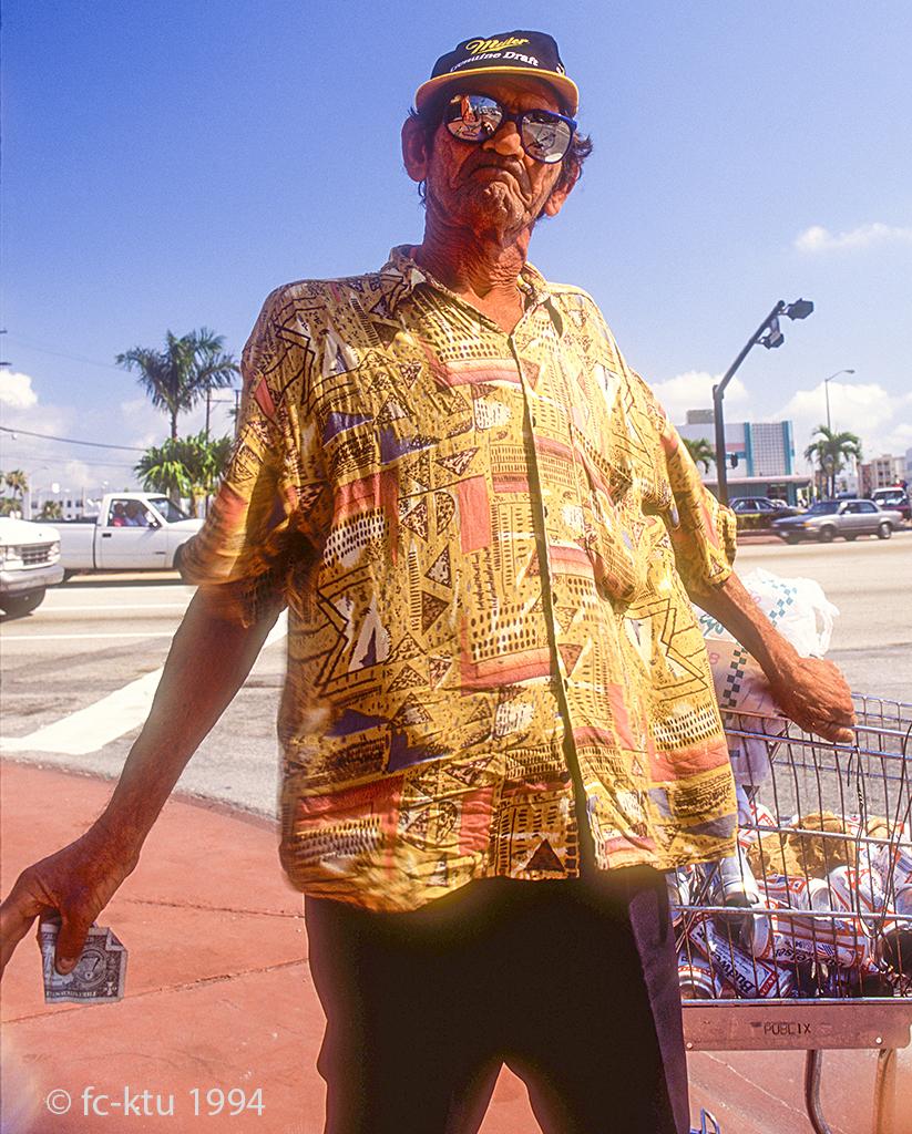 Miami Beach: Arm, aber nicht unglücklich