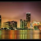 MIAMI Skyscrapers by Night -Reloaded