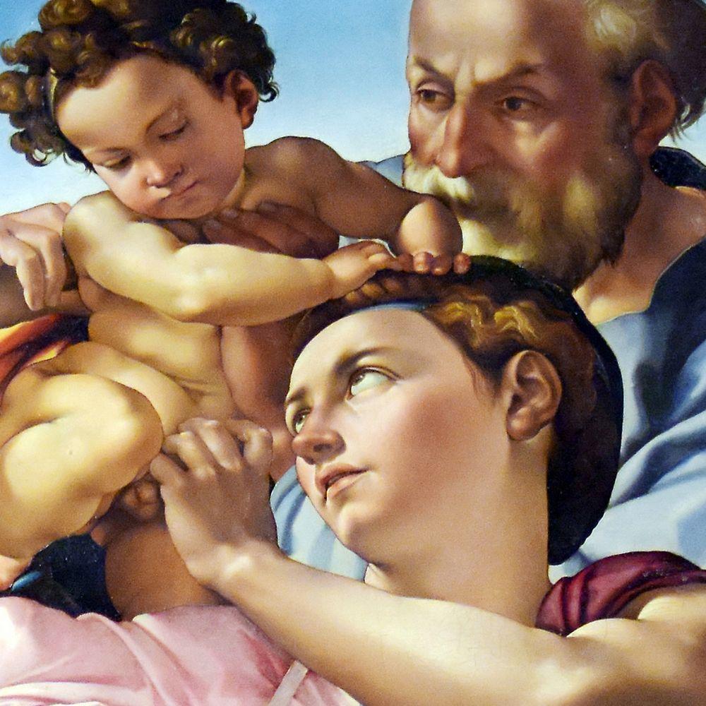 Michelangelo · Tondo Doni (Detail)