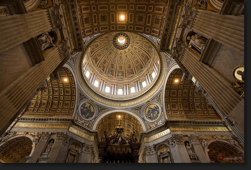 Michelangelo´s Kuppel im Petersdom