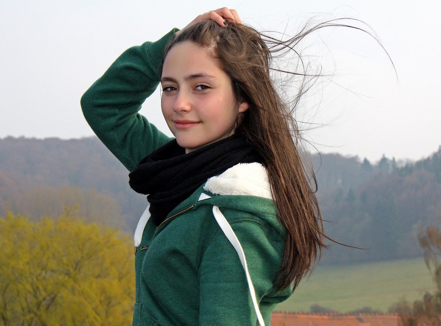 Michelle outdoor