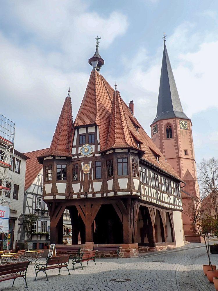 Michelstadt im Odenwald - Altes Rathaus