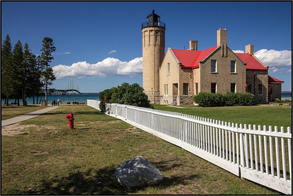 Michigan   Old Mackinac Point  
