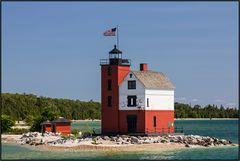 Michigan   Round Island Lighthouse  