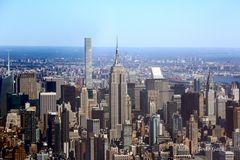Midtown Manhattan aus der Luft