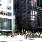 Mies van der Rohe and E,M.Pei  side by side