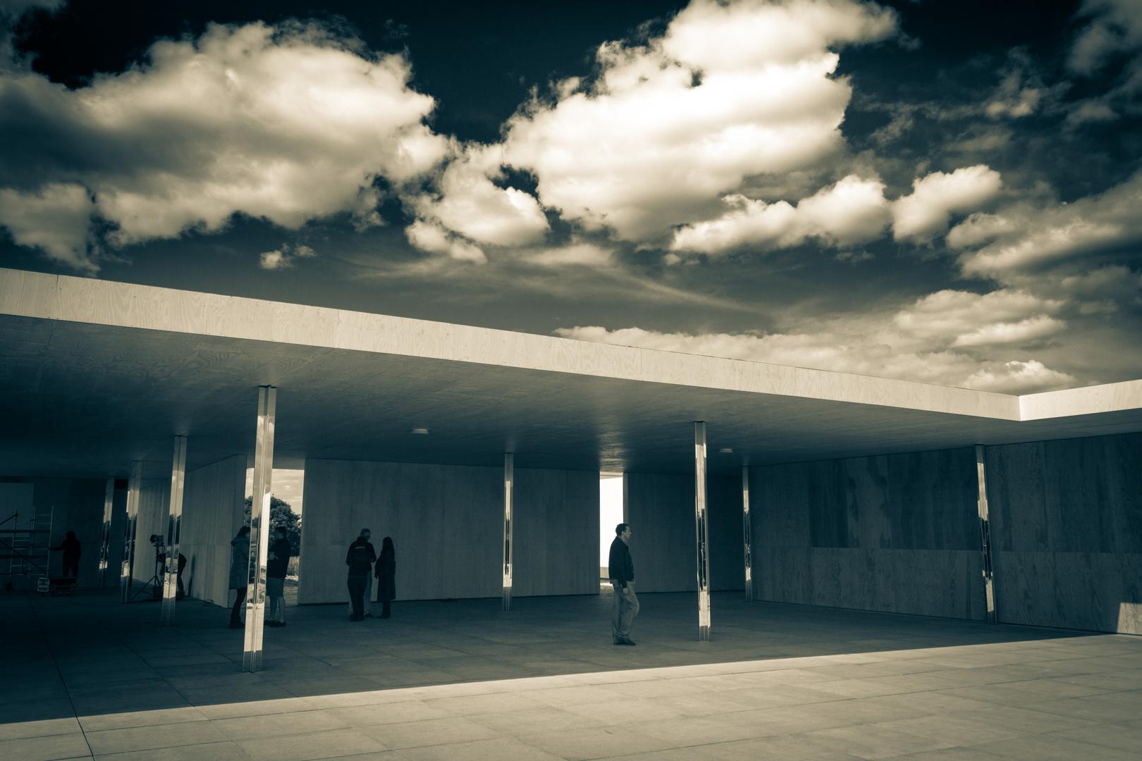 mies van der rohe das golfclub projekt krefeld egelsberg 02 foto bild architektur. Black Bedroom Furniture Sets. Home Design Ideas