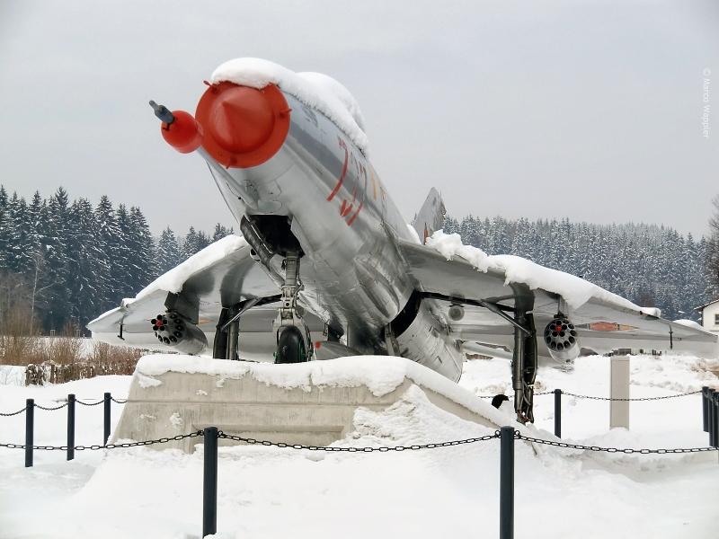 MiG-21 im Winter