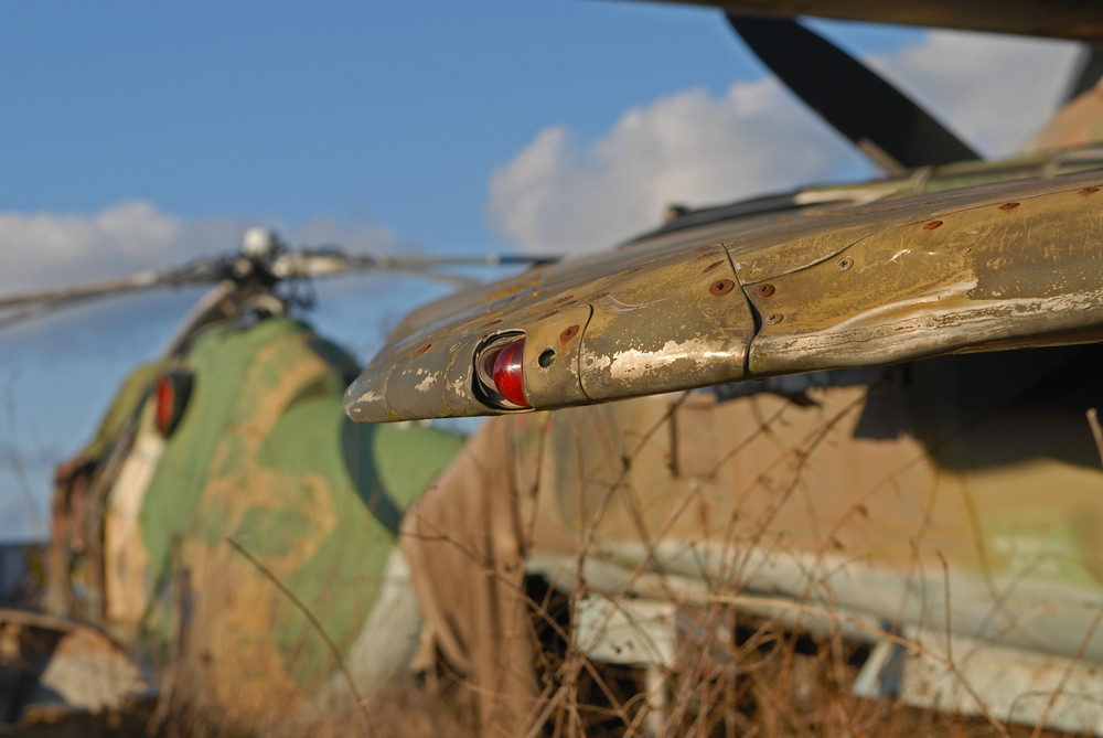 Mig-23 Flügelspitze