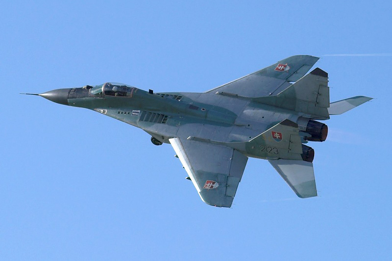 MiG 29, CIAF2006, Brno-Turany (BRQ)