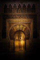 Mihrab in der Mezquita Catedral de Cordoba ...
