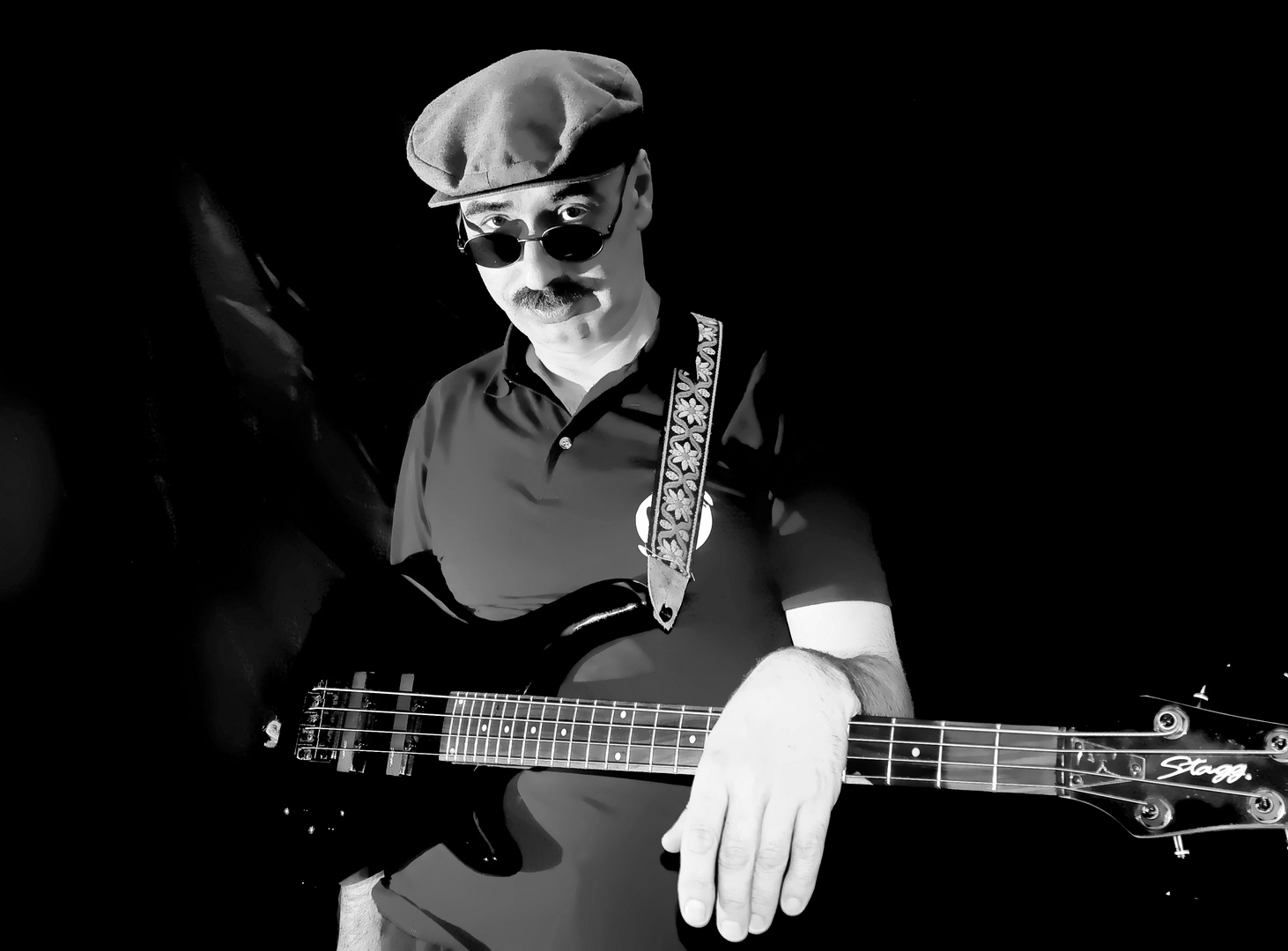 Mike on Bass