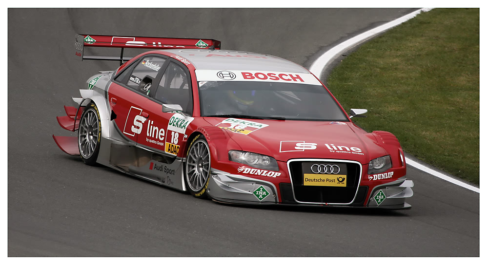 Mike Rockenfeller - S line Audi A4 DTM (2007)