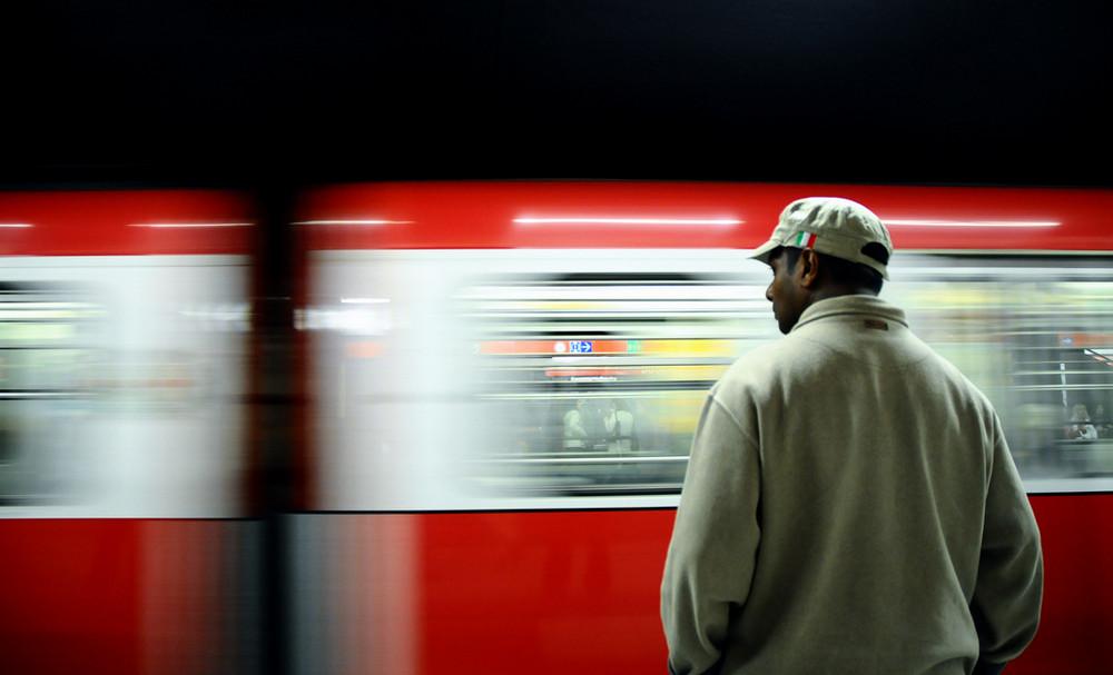 Milan metro station