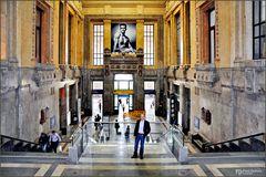 Milano Centrale, was für ein Bahnhof