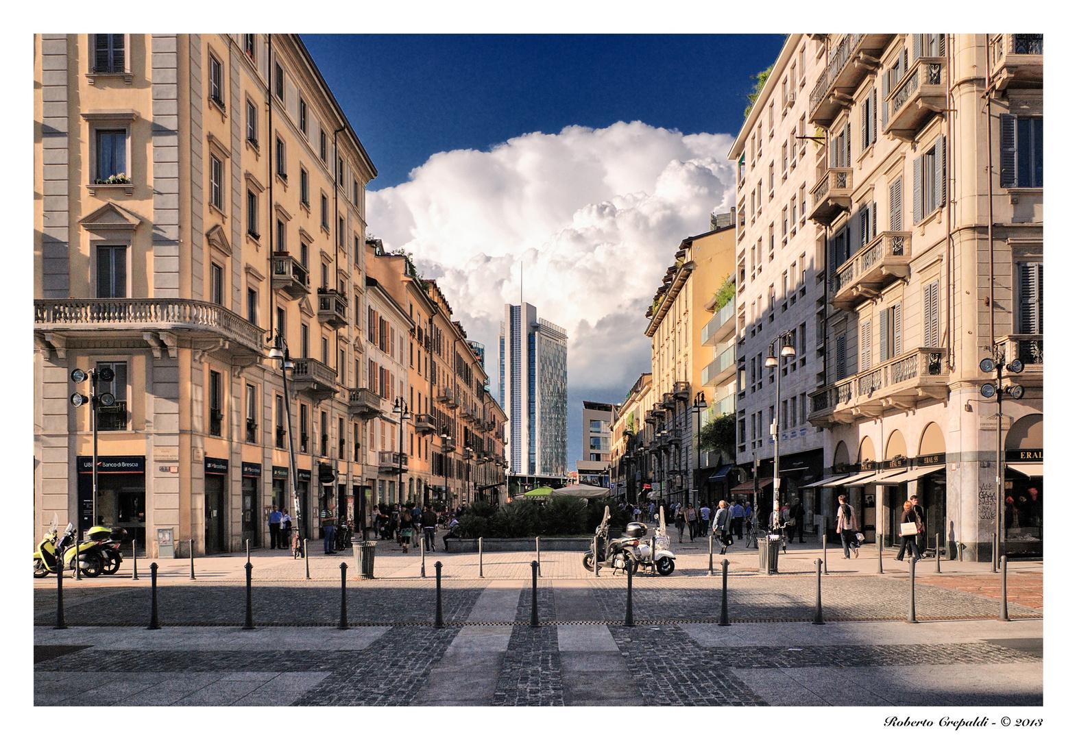 Milano corso como foto immagini architetture for Corso arredatore d interni milano