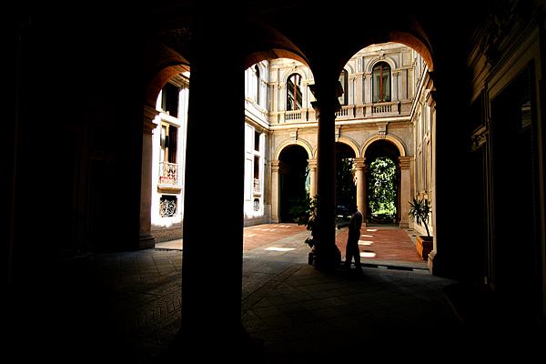 Milano- Innenhof