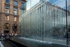 Milano, piazza Liberty, la fontana