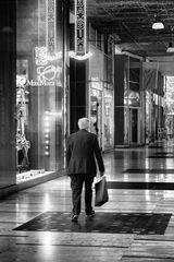 Milano, shopping in galleria