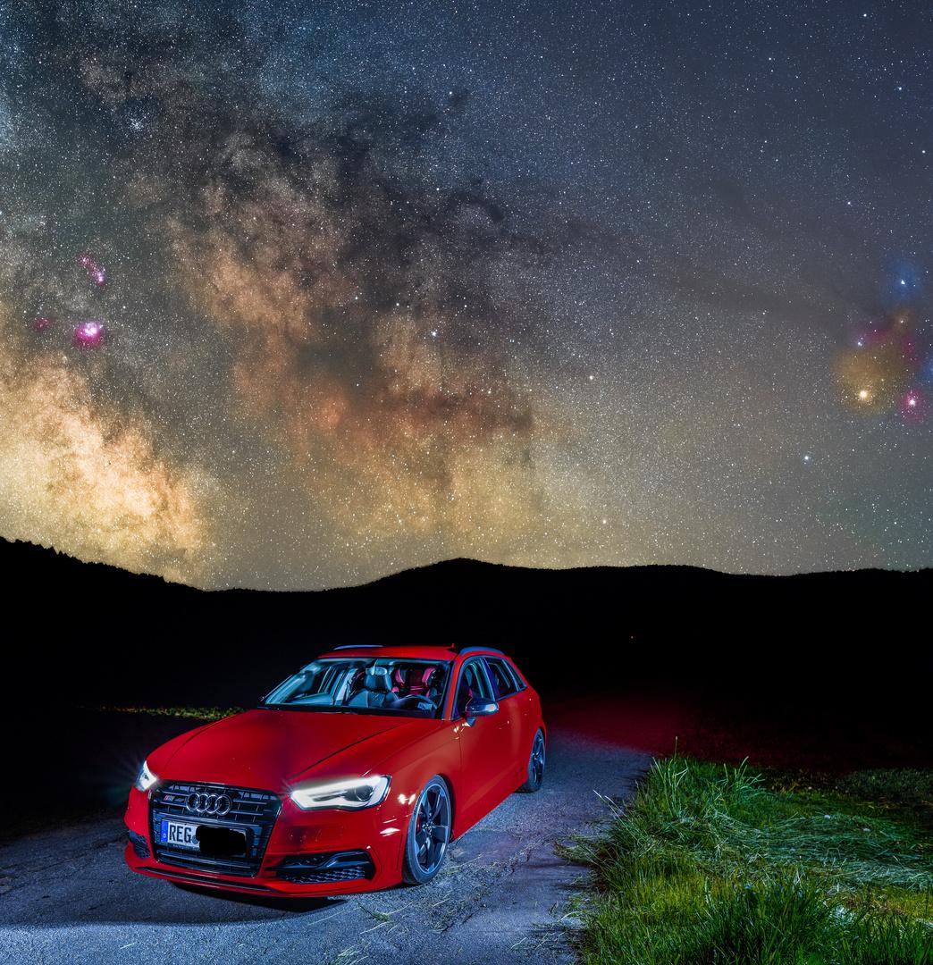 Milchstraße gleich ums Eck die Zweite