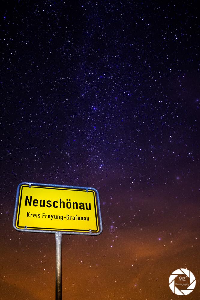 Milchstraße über dem Bayerischen Wald