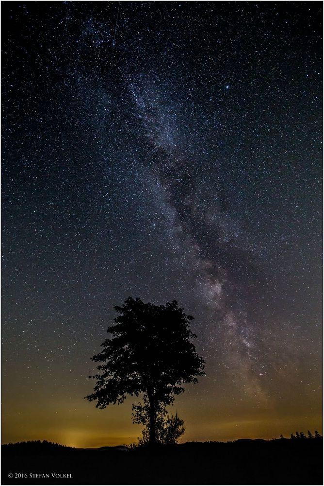 Milchstraße über dem Wittgensteiner Land