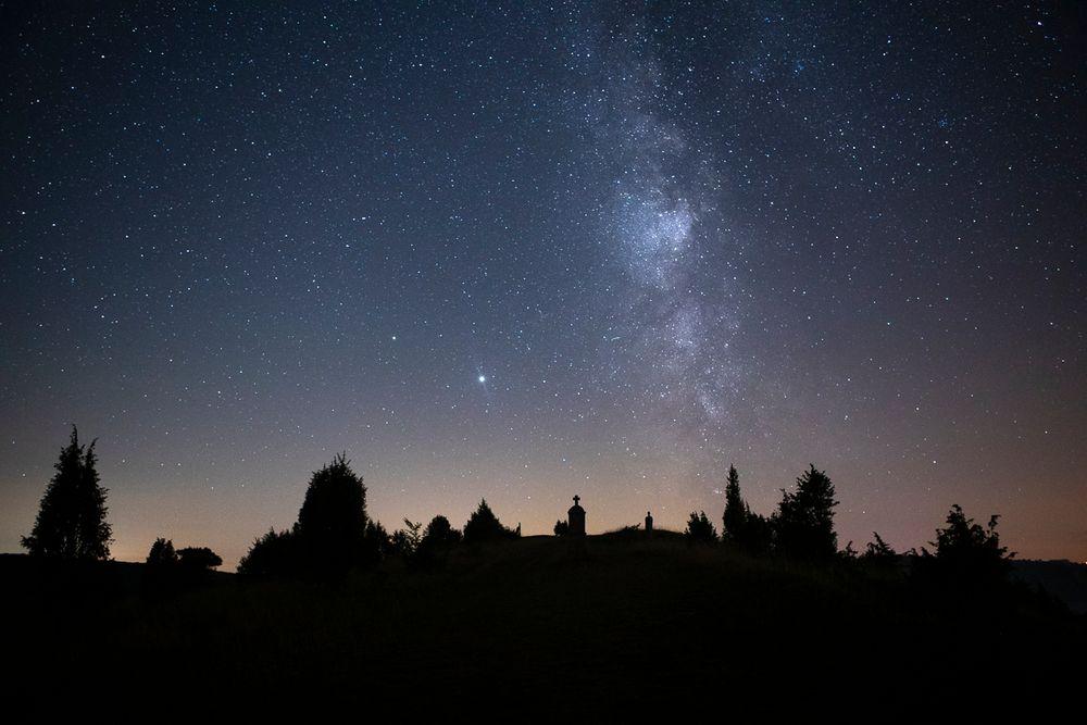 Milchstraße über der Nordeifel