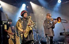 Miles Mosley, Kamasi Washington, Ryan Porter