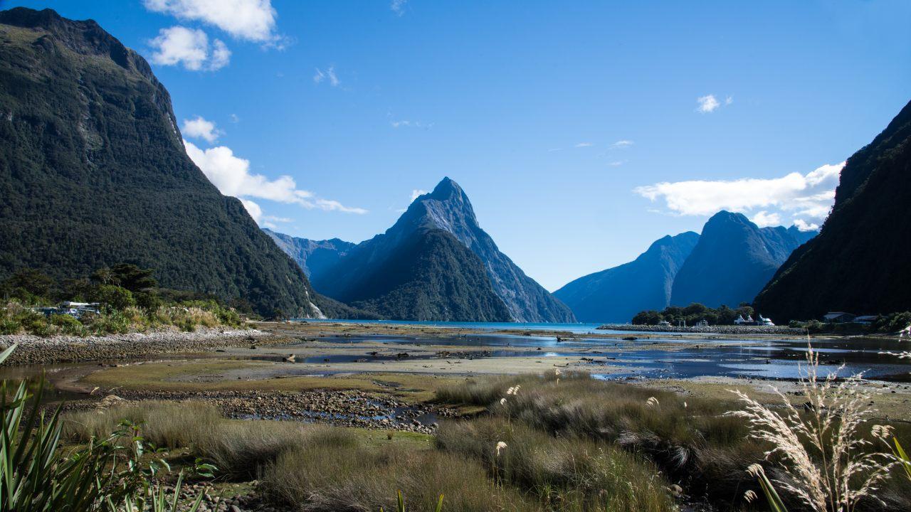 Milford Sound auf der Südinsel von NZ