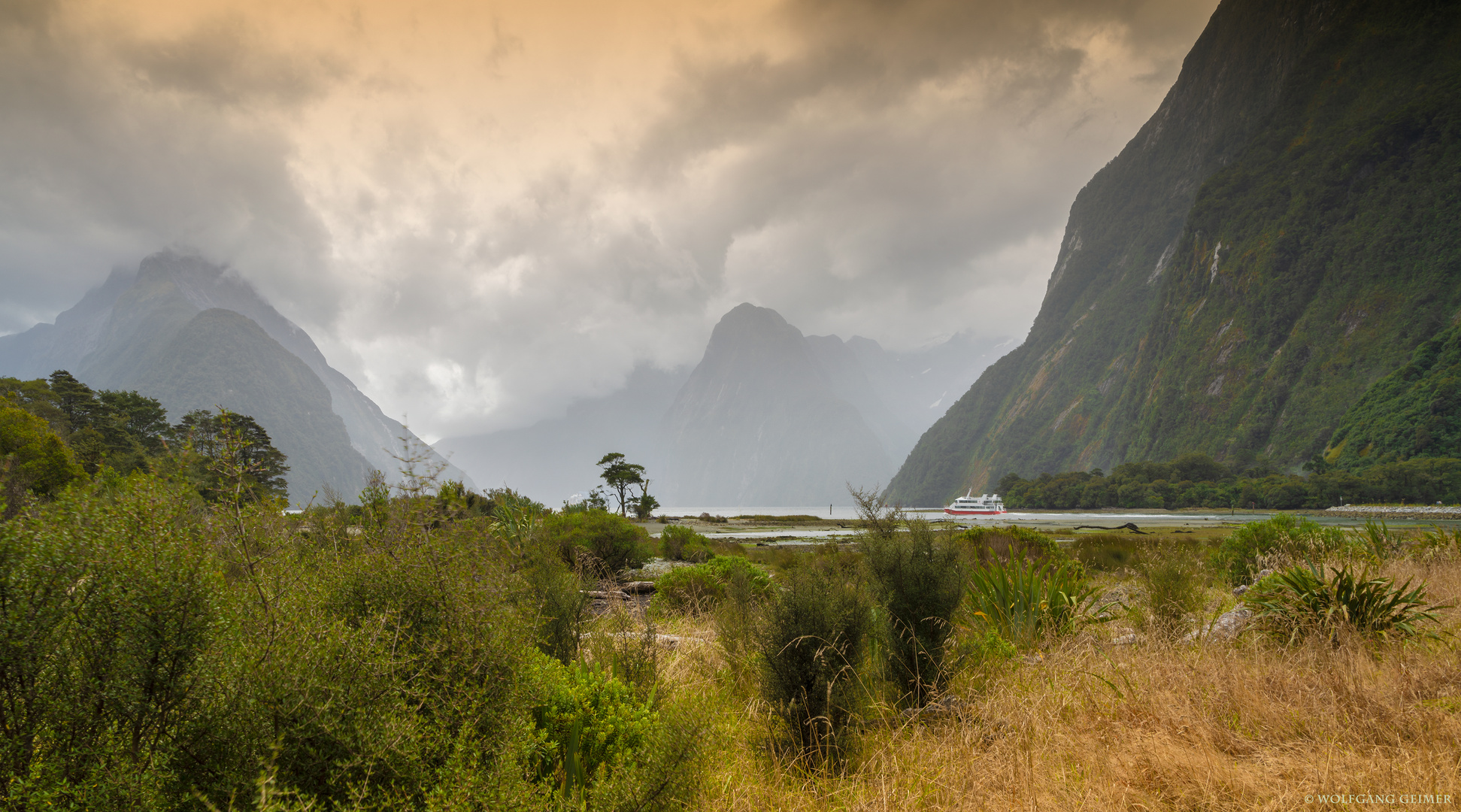Milford-Sound Neuseeland
