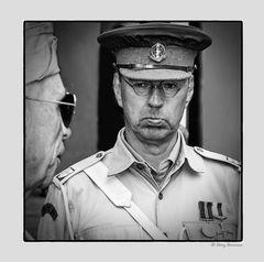 Military Police Corps mitten in wien.....