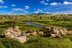 Milk River 1, Writing-on-Stone PP, Alberta, Kanada