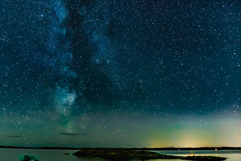 Milky Way art