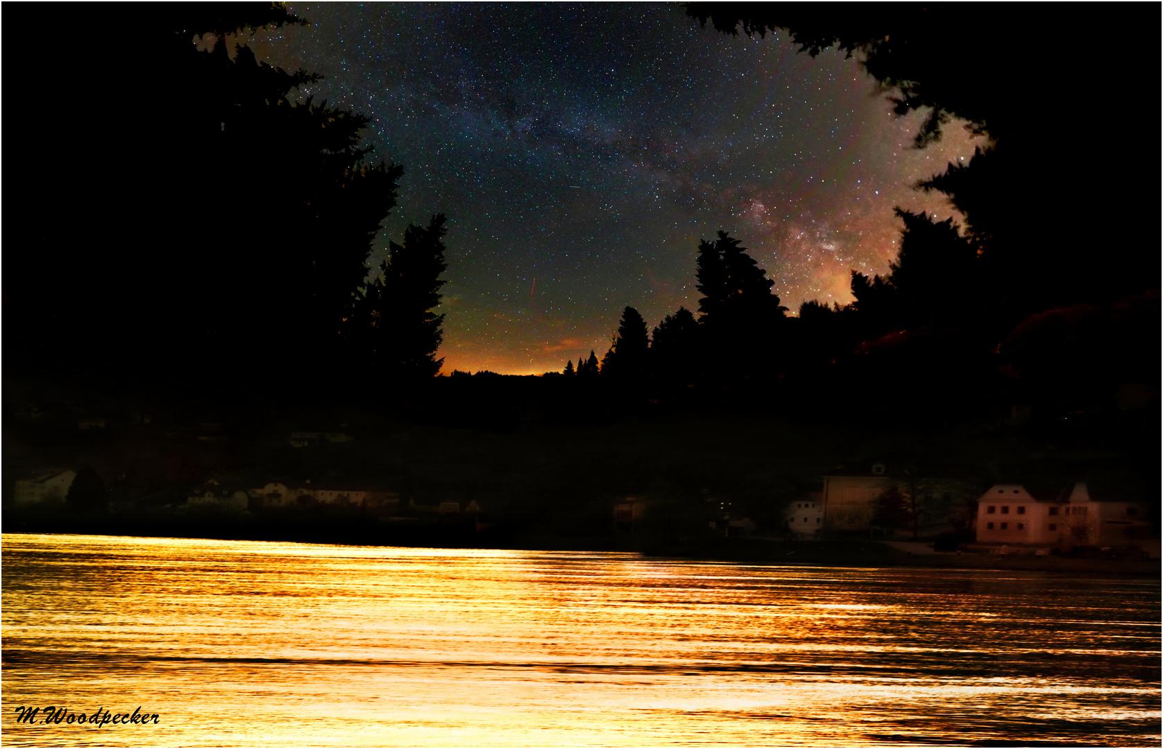 Milkyway Panorama Strudengau
