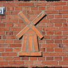mill on a wall