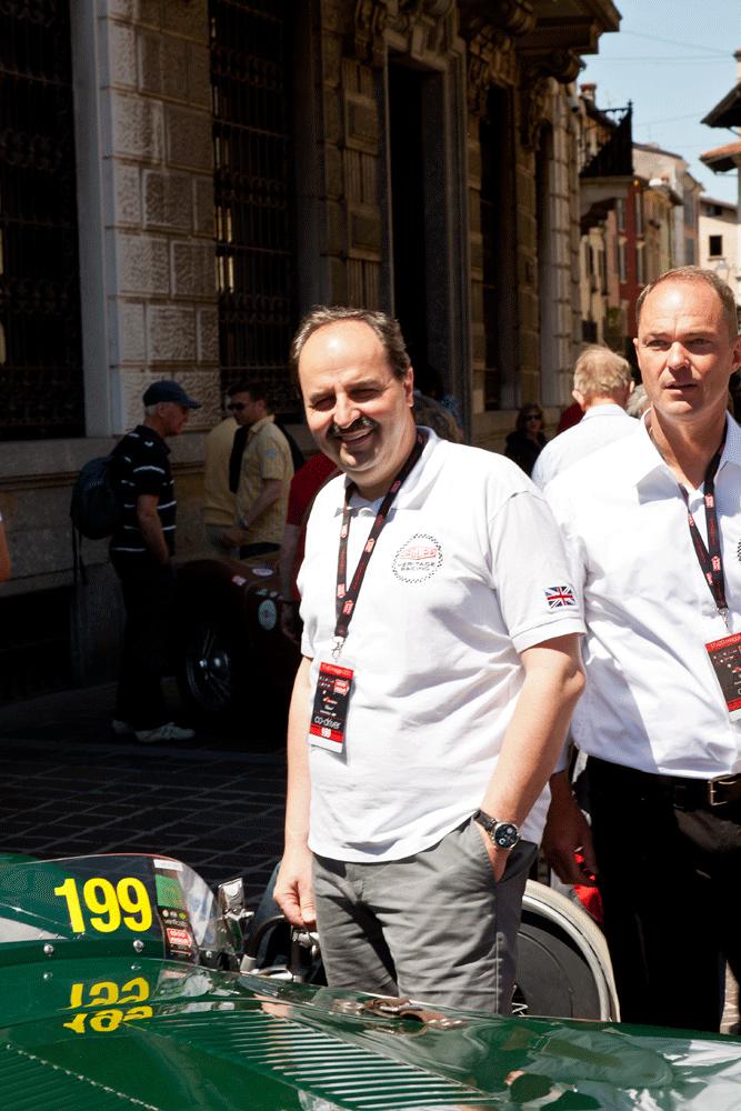 """Mille Miglia 2012 """"Johann Lafer"""""""