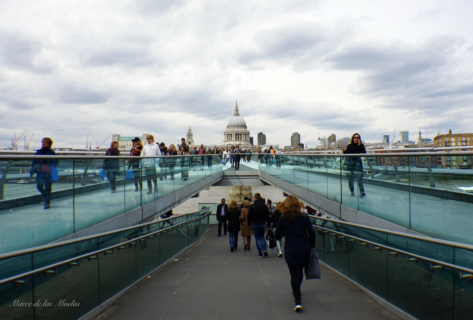 ...Millenium Bridge...