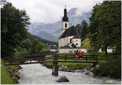 Millionenfach bei Sonne fotografiert: Ramsau im Berchtesgadener Land