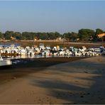 Mimizan - le Courant à marée basse -- Mimizan - Der « Courant » bei