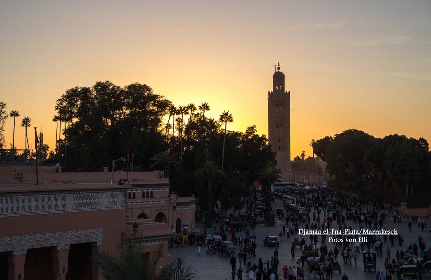 Minarett der Kutubiya-Moschee