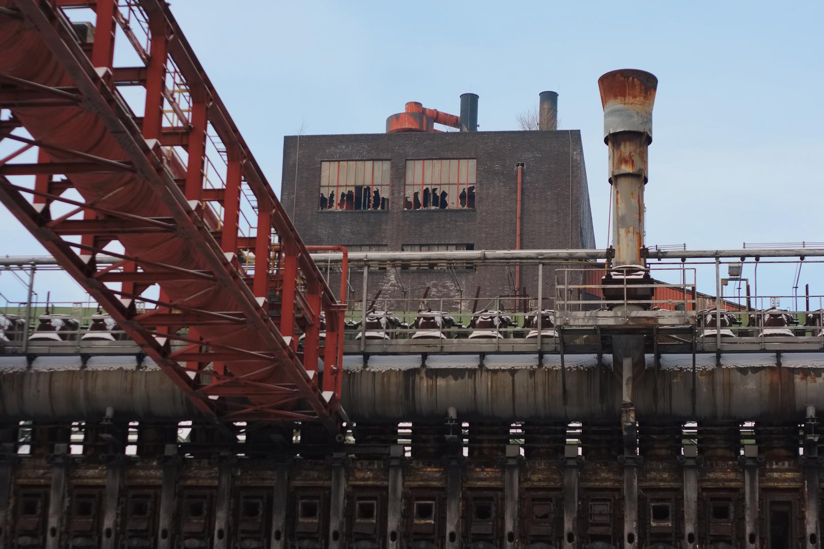 Mine de charbon à l'abandon