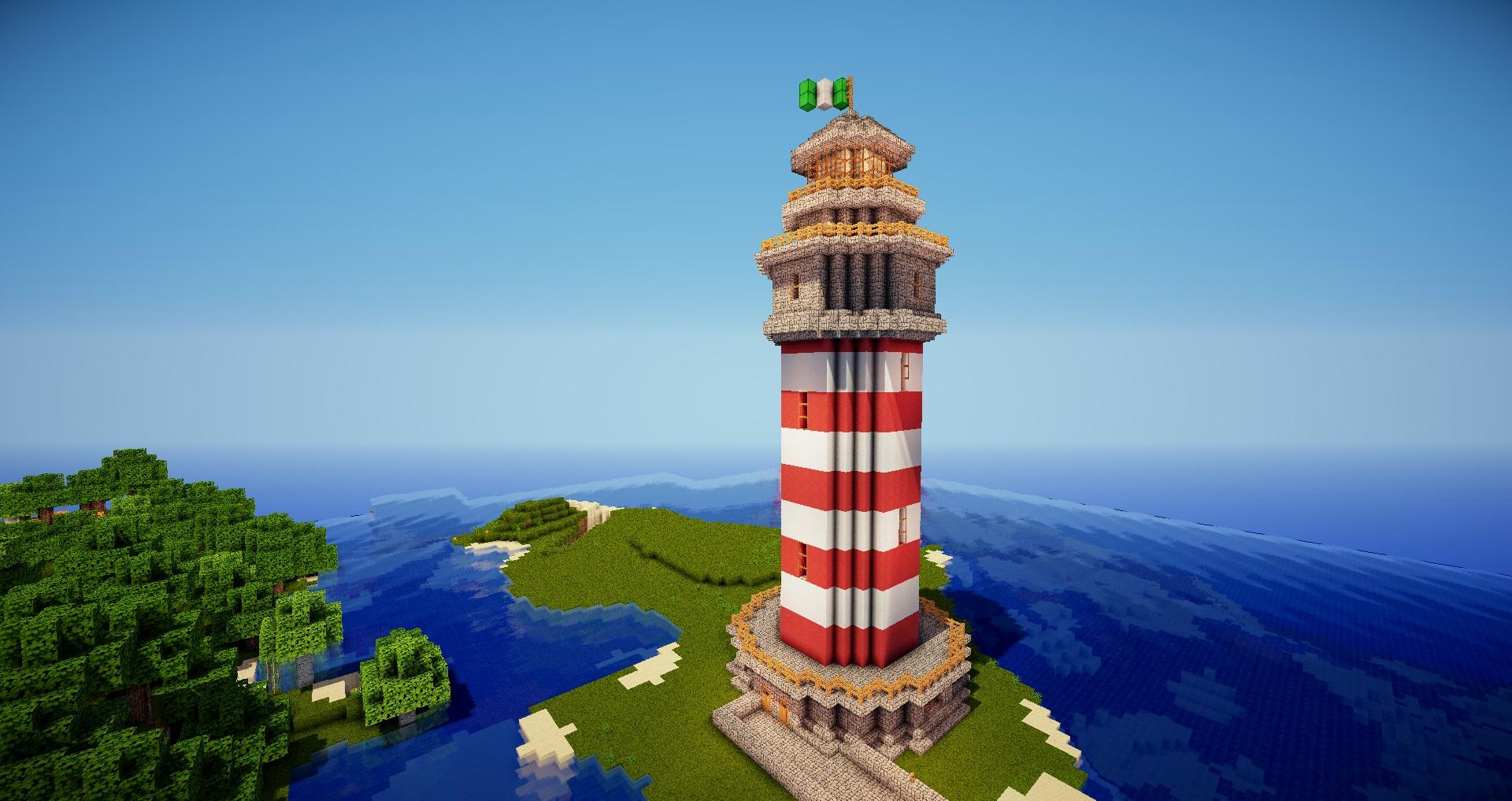 Minecraft leuchtturm foto bild industrie und technik m hlen energietechnik bilder auf - Leuchtturm selber bauen ...