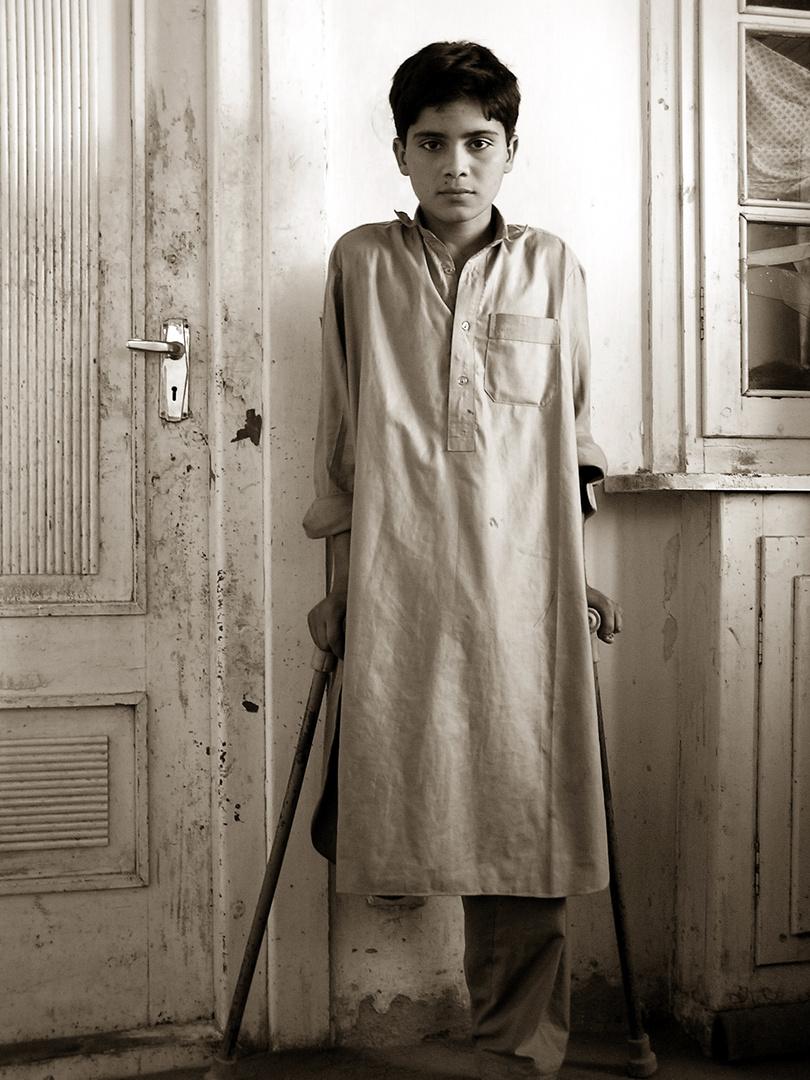 Minenopfer in Kabul