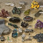 Mineralienauslese - Choice Of Minerals