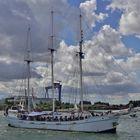Minerva bei der Hanse Sail