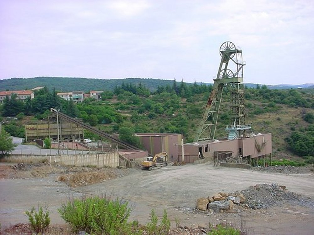 Mines d'or de Salsigne France